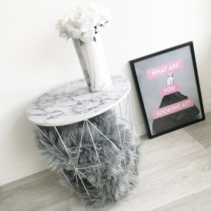 table-d-appoint-marbre-noir